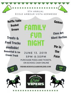 5th Annual Ecole Arbour Vista Kermesse