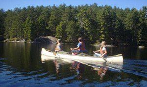 canoe on grand river