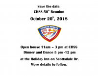 CHSS 50th Reunion Save The Date