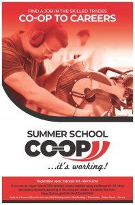 Summer School Coop Poster (2020 21)