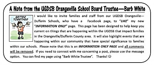 hello message from trustee