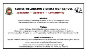 CWDHS Mission Vision Goals 2016 to 2020