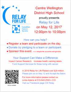 CWDHS Relay for Life