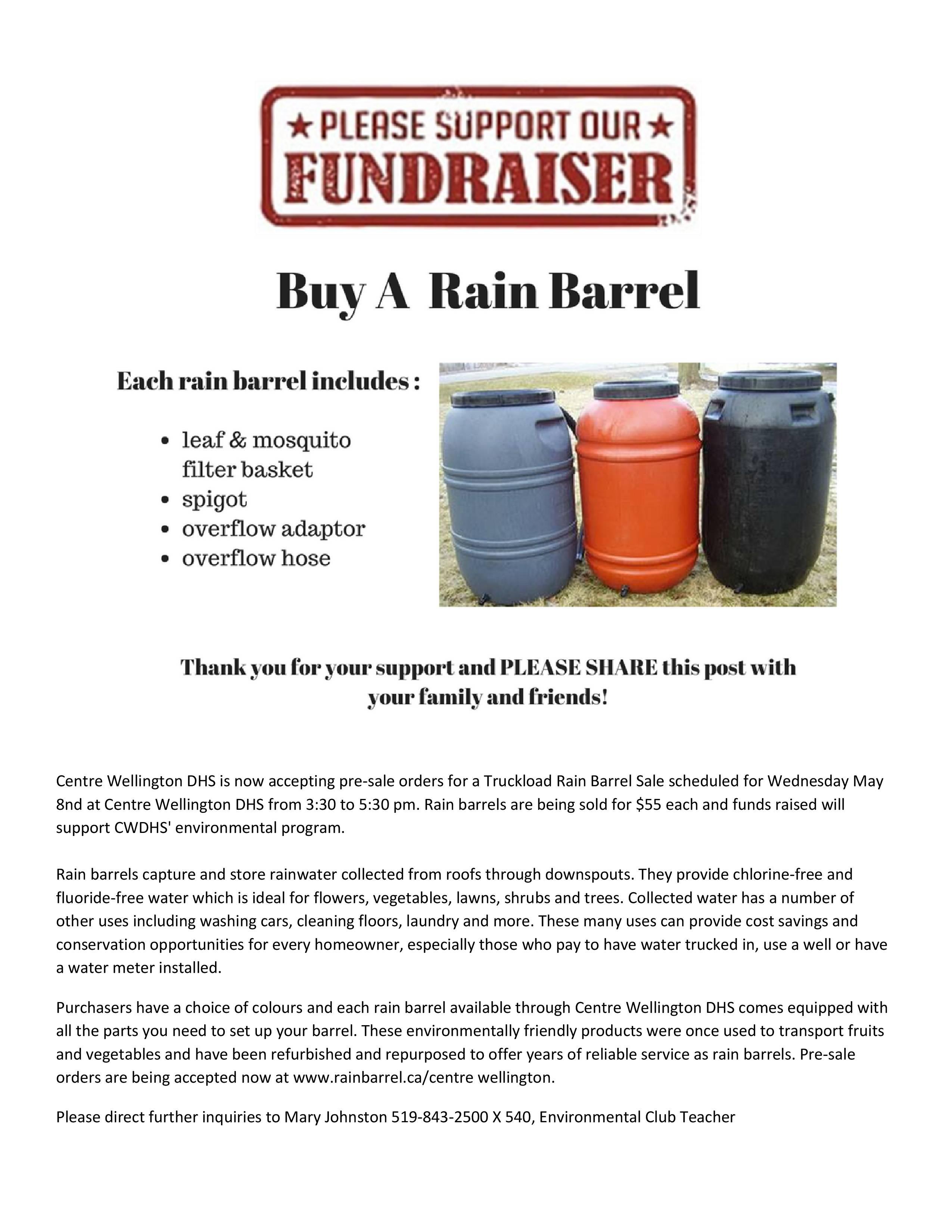 Rain Barrels 2019