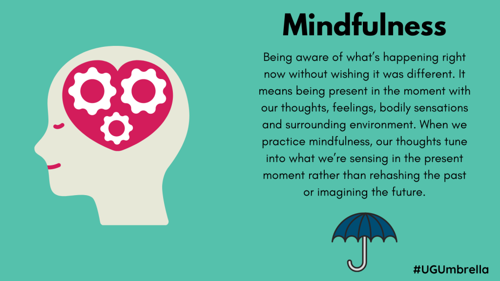 March   Mindfulness infographic