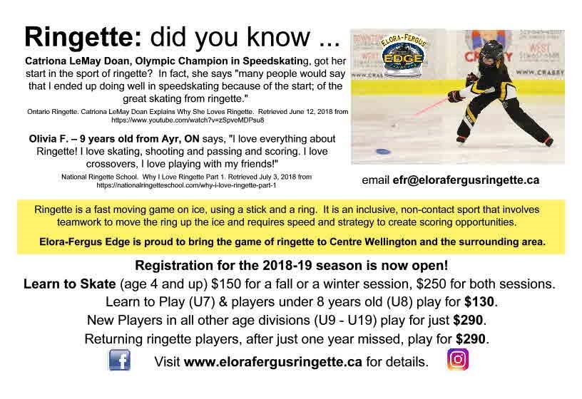 Ringette Registration