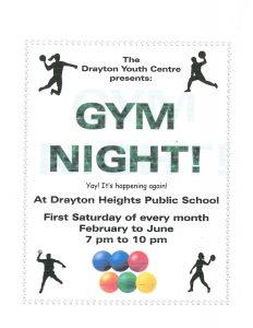 Drayton Gym Night