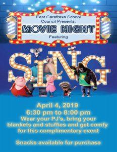 Movie Poster Sing