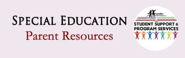 Special Education Parent Resources