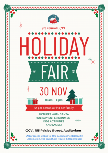 Personal Fav Edited Holiday Fair Poster