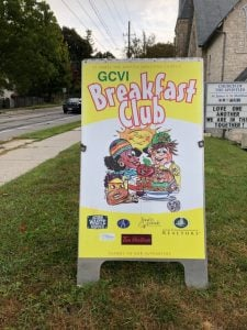 Breakfast Club sign