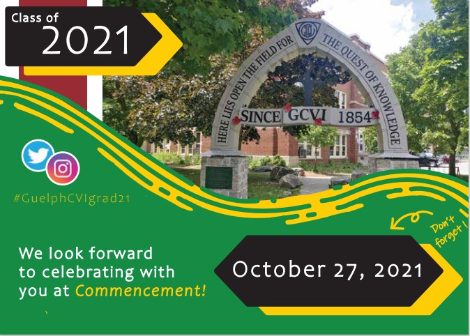 2021 Save The Date Commencement