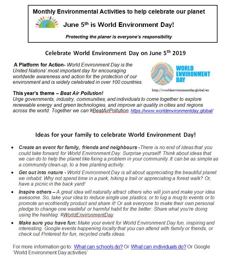 June Environment