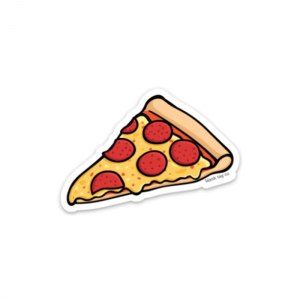 The Pepperoni Pizza Slice Sticker Product Image_x700