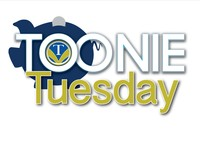 logo for Toonie Tuesday