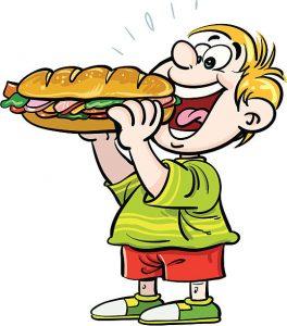 Illustration Of Sandwich.