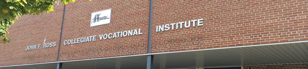 John F. Ross Collegiate Vocational Institute