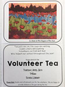 Volunteer Tea Picture