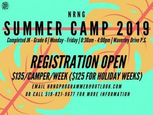SummerCamp2019 Registration Open