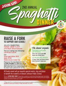 EJPS_SpaghettiDinner_Flyer_FINAL Copy