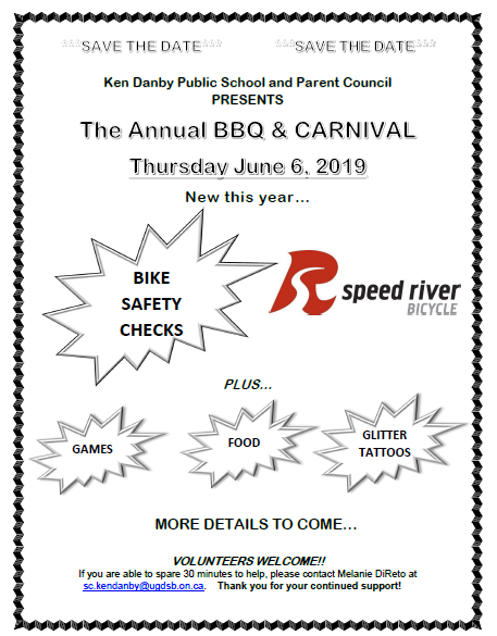 Save The Date BBQ 2019