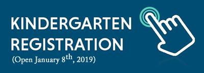 Kindergarten Registration Button