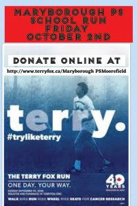 Terry Fox Collage   MPS   September 2020