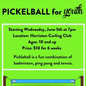 Youth Pickleball