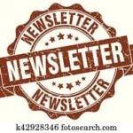 Newsletter Stamp Sign Seal Clip Art__k42928346