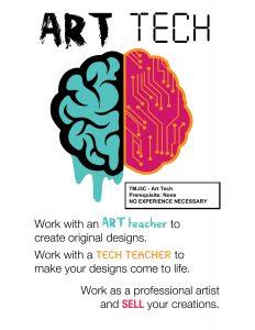 Art Tech Poster Small