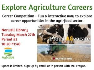 Ag Careers March 27