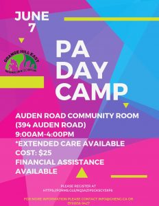 PA DAy CAmp June 2019