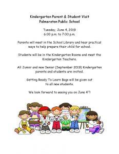 Kindergarten June Visit