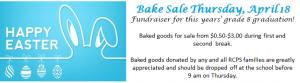 Bake Sale April
