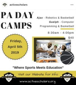 PA Day Flyer