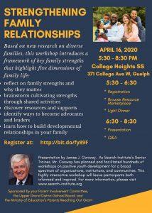 Strengthening Family Relationships