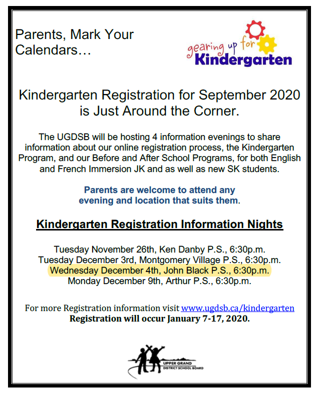 Kdg Info Night