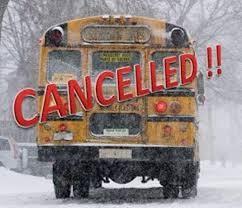 School Bus Cancelled