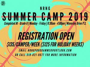 SummerCamp2019 Registration Open