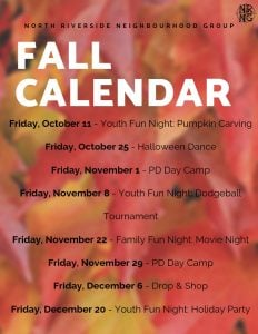 NRNG Fall Calendar 2019