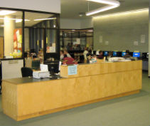 WSS library circular Desk