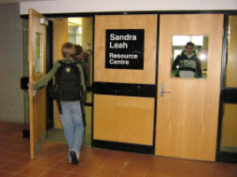 WSS library entrance