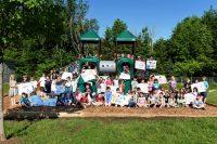 John Black Public School has improved the school playground, through the help of community sponsors.