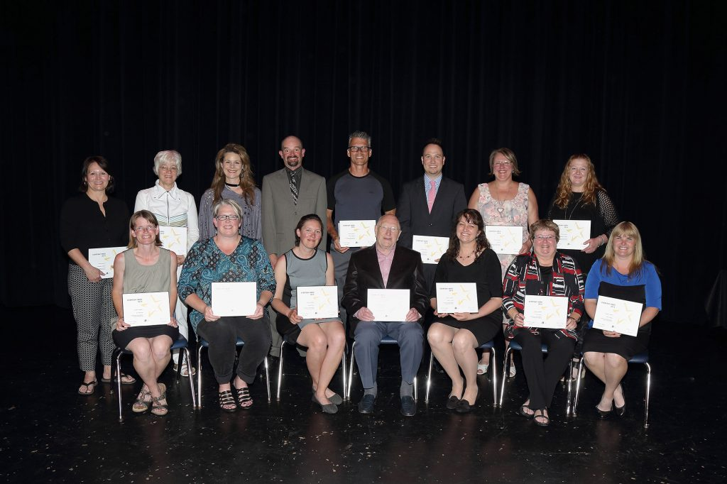 The Everyday Hero Awards recipients 2015-2016.