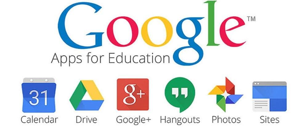 Google Apps for Education logos