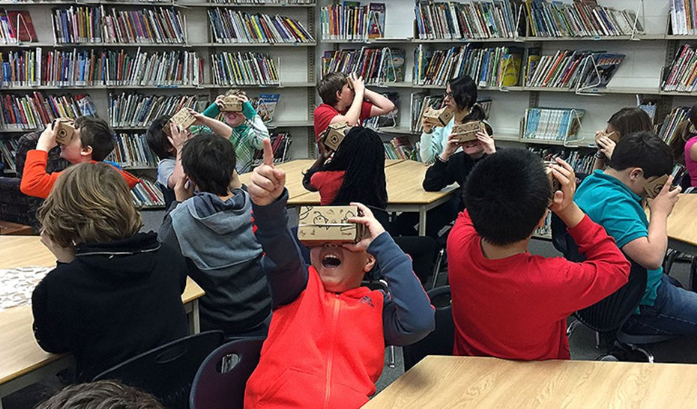 Google Expedition road show