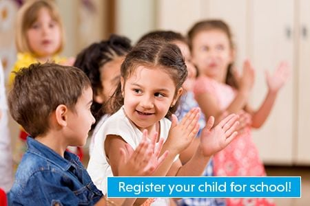 Register your child for school in the UGDSB