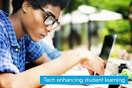 See how technology is enhancing student learning in the Upper Grand District School Board.