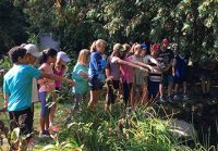 On Sept. 20 and Sept. 21, 2017, intermediate students at Rickson Ridge Public School went to the Arboretum and the University of Guelph to learn some trail building skills.