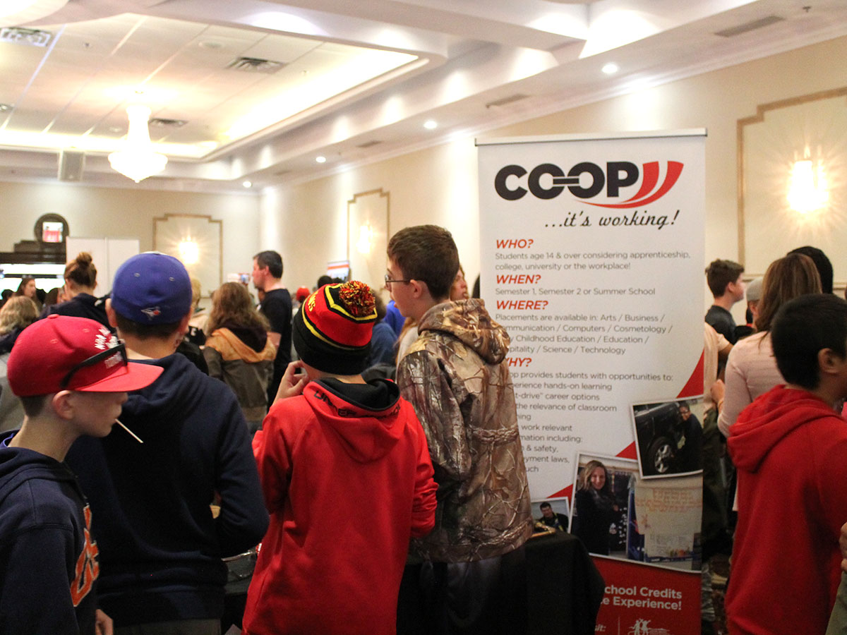 On Oct. 12, 2017, hundreds of grade 8 students attended Career Pathways Guelph-Wellington at the Hanlon Convention Centre.
